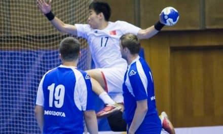 Китай би Молдова и завърши втори в Група D