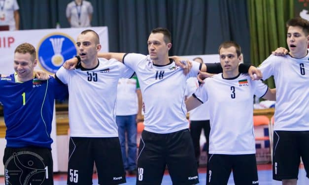 Bulgaria vs Faroe Islands on 1/4-finals at the IHF Men's Emerging Nations Championship