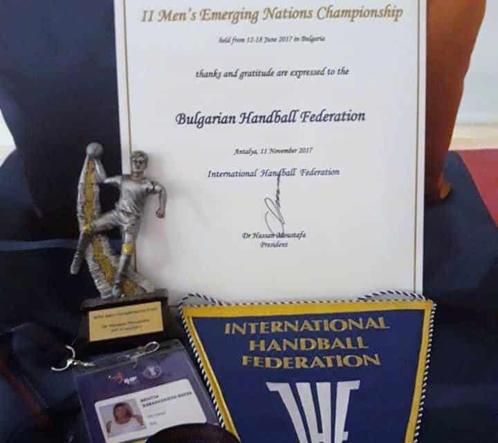 България получи престижна награда от конгреса на Световната хандбална федерация