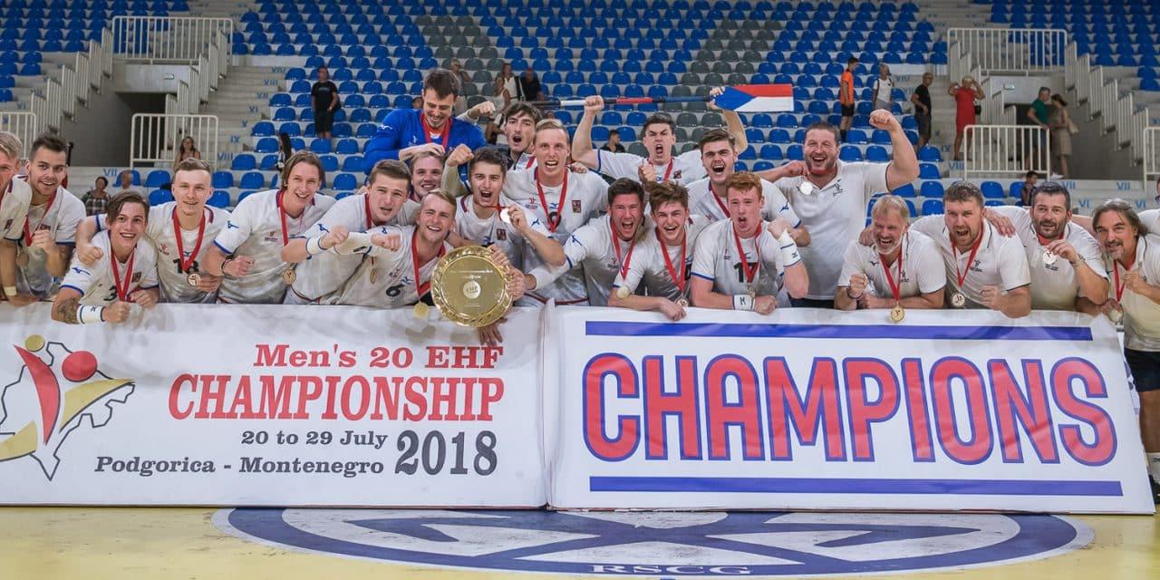Чехия шампион в туринра Men's 20 EHF Championshiр (КРАЙНО КЛАСИРАНЕ)