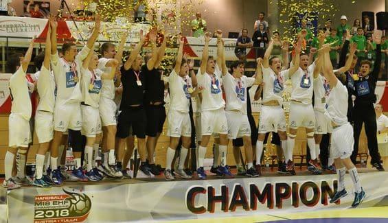 Австрия триумфира в турнира EHF M18 CHAMPIONSHIP