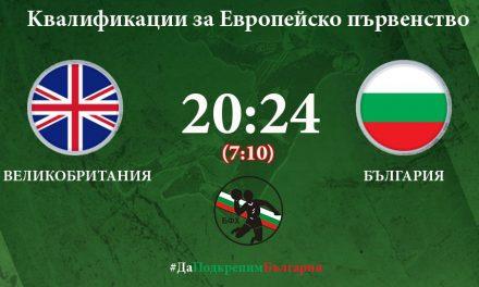 България се поздрави с първа победа по пътя си към Европейското първенство