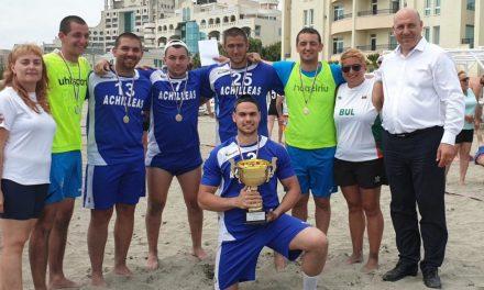 Ясни са шампионите на България по плажен хандбал от Националните финали